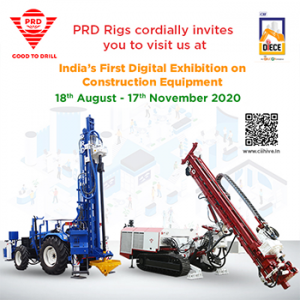 Visit us @ India's First Digital Exhibition on Construction Equipment